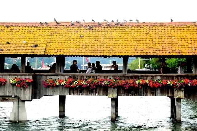 puente bonito lucerna suiza