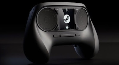 Controller sticks steam machine