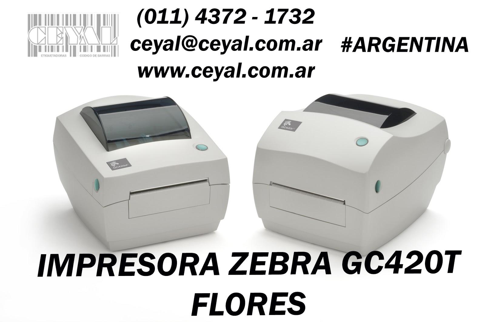 Cabezal Semi Industrial zebra Bs As Argentina