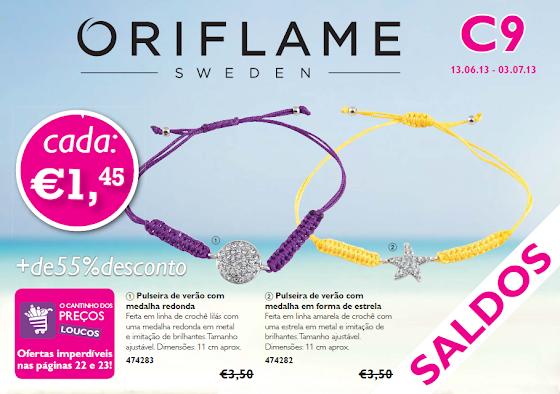 Flyer do Catálogo 09 de 2013 da Oriflame