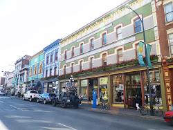 Historische gebouwen in Victoria