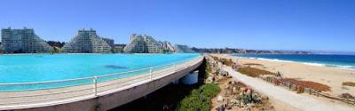 bassein 0012 أكبر و أنقى حمام سباحة في العالم بتكليف خمسة بلاين جنية استرليني  في تشيلي