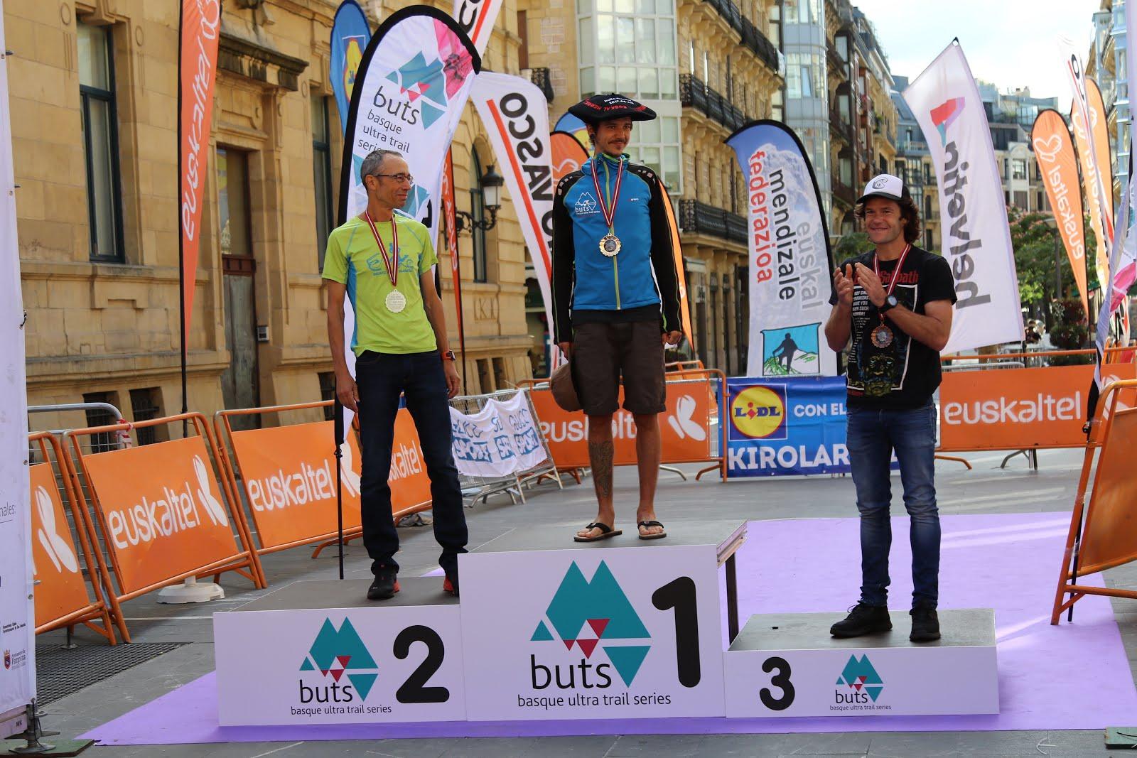 BUTS Iruñea - Donostia: 122 km / 7200 mD+