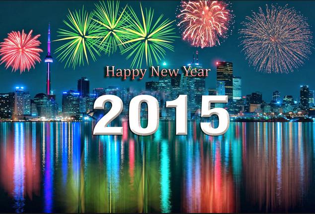 gambar gerak ucapan tahun baru 2015