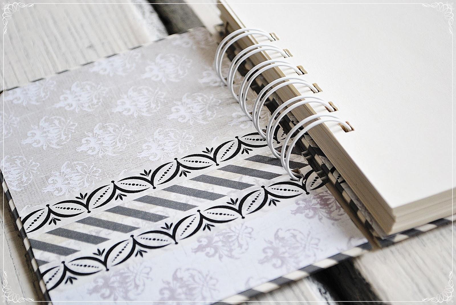 przepiśnik, notes, scrapbooking