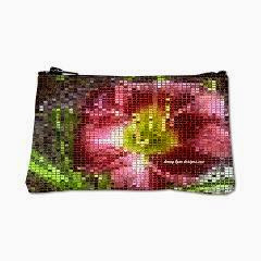 Mosaic Day Lily Coin Purse