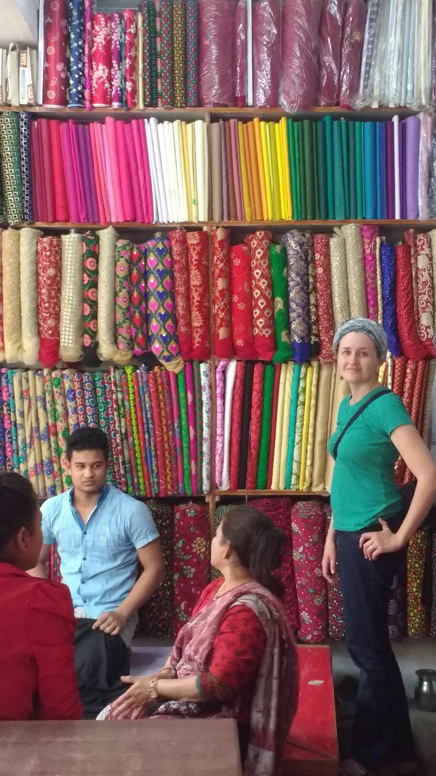 Nepali Cloth Shop