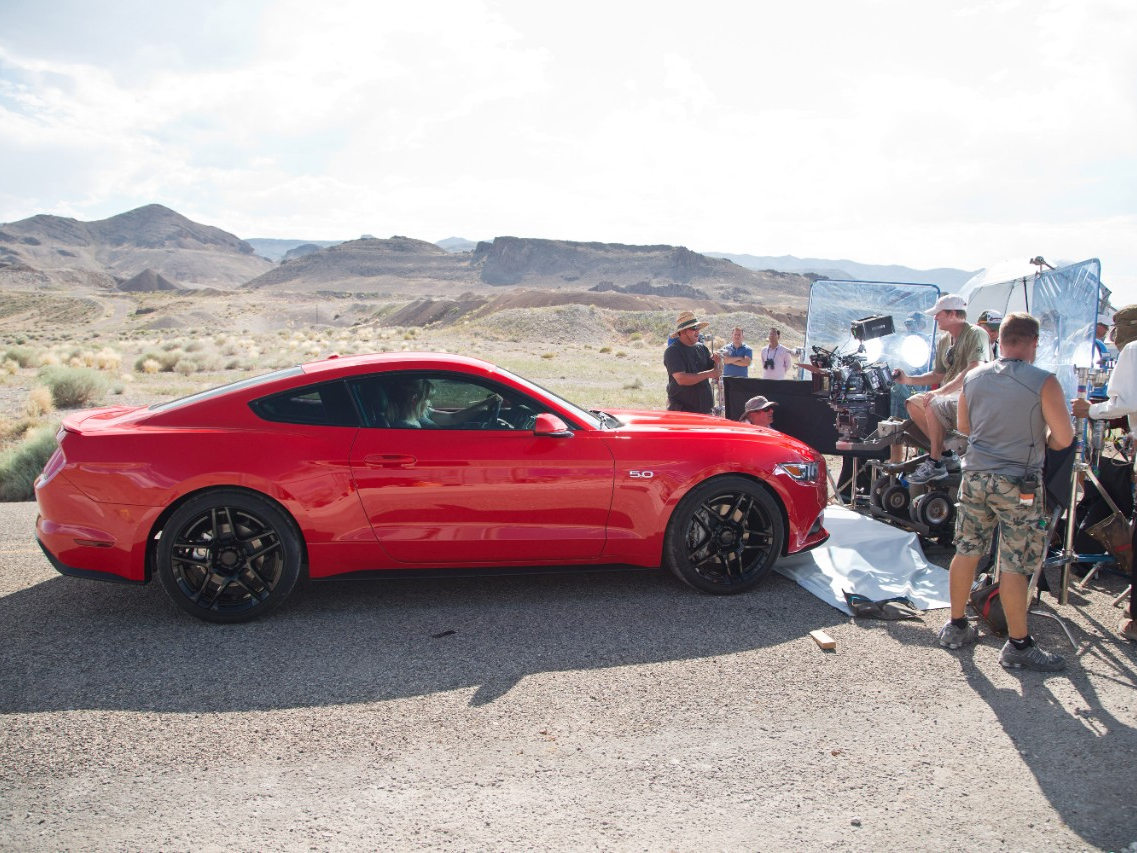 All-New Ford Mustang Heads to Hollywood