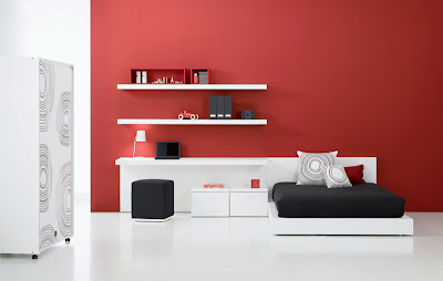 Modern and Elegant Teen Bedroom Decor Ideas, http://dornob.blogspot.com/