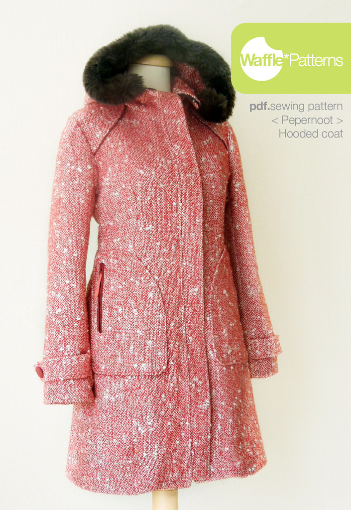 Rhondas Creative Life The Pepernoot Coat From Waffle Patternsmy