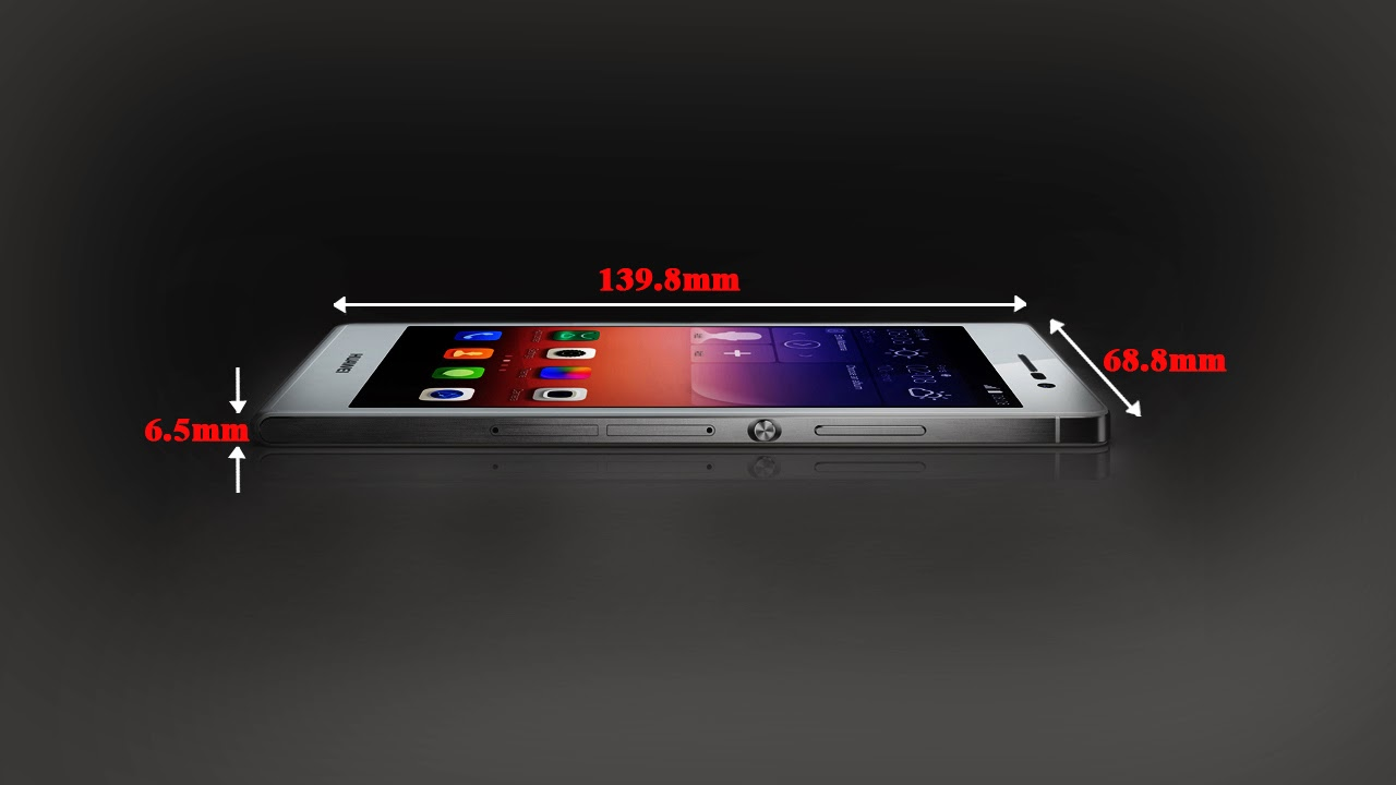 HUAWE,I Ascend P7, Mobile Phone, Size,