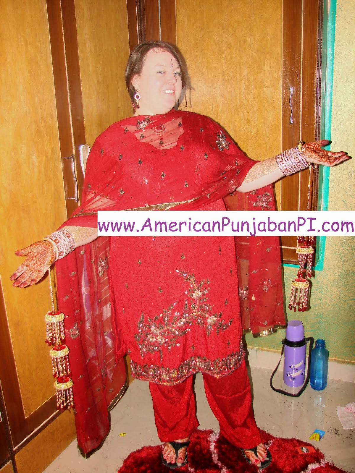 gori punjabi wedding suit salwar kameez