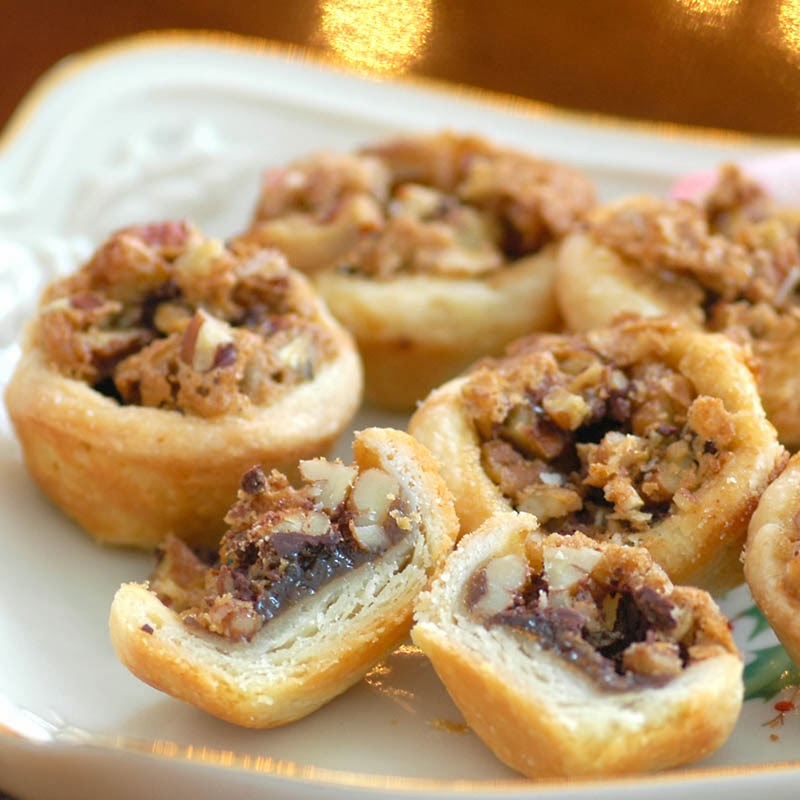 Chocolate-Pecan Tassies