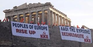 Grèce : Mikis Théodorakis appelle les Grecs et les peuples d'Europe à résister au totalitarisme des marchés financiers dans EUROPE