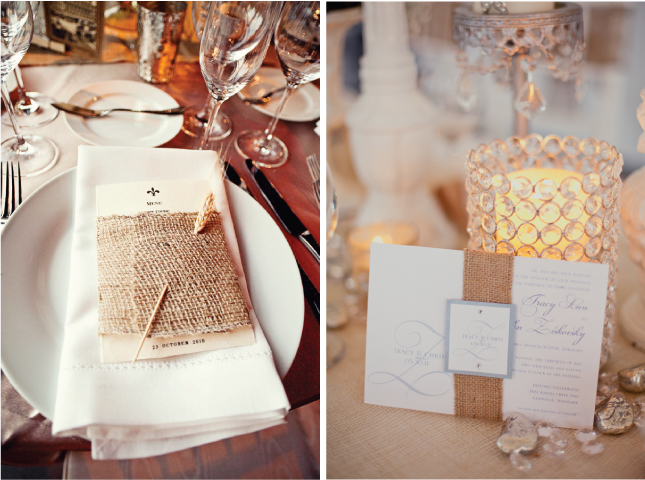 Here are 10 supercute burlap wedding element to give you a little rustic