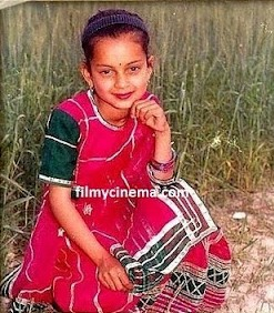 Kangana Ranuat Childhood Pictures