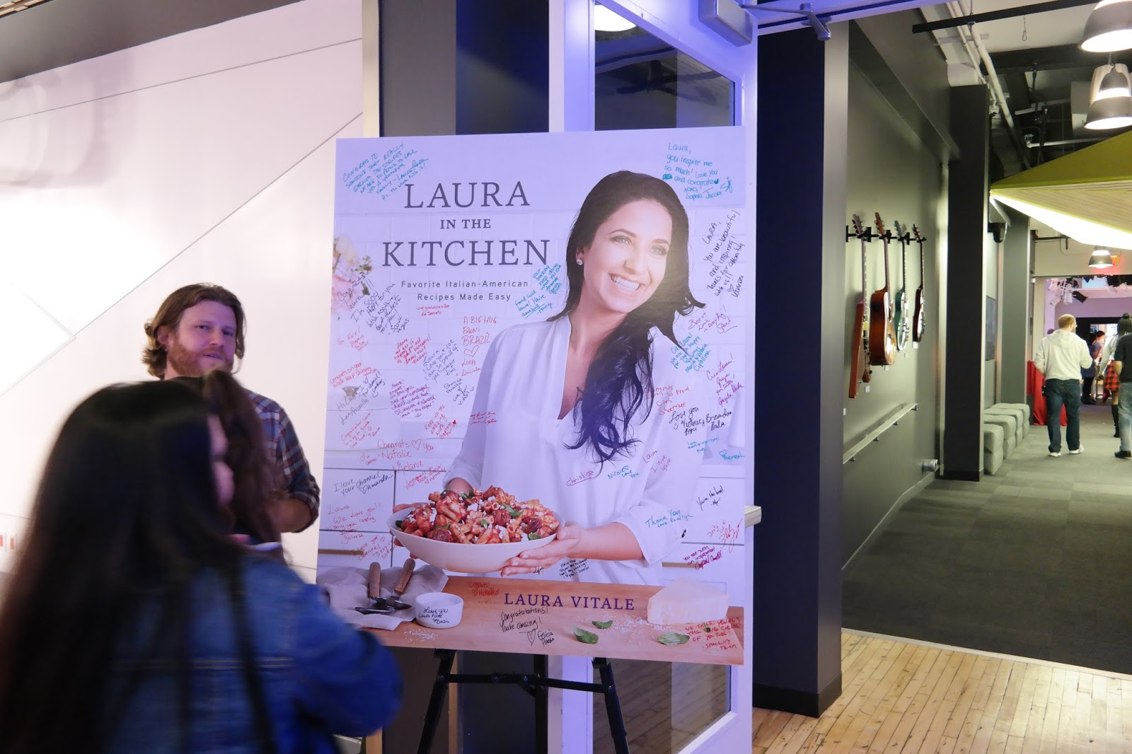 LAPIS DARLING: Laura Vitale Book Launch! | Laura in the Kitchen