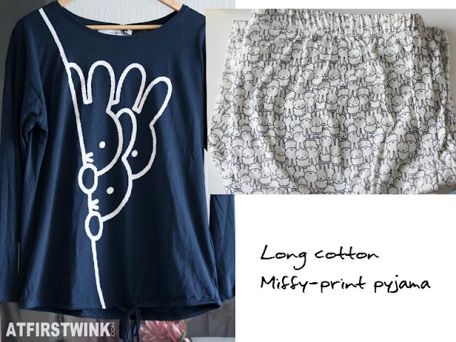 Women' secret Long cotton Miffy-print pyjama nijntje long sleeves and long pants