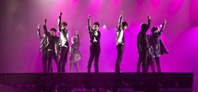 Foto Super Junior Suju Super Show 4 jakarta indonesia