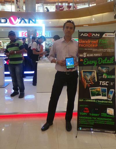 Advan Gelar Booth Pameran di Mall Kelapa Gading