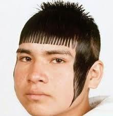 Foto Gaya Rambut Teraneh Di Dunia