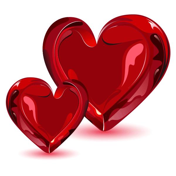 Glassy Hearts