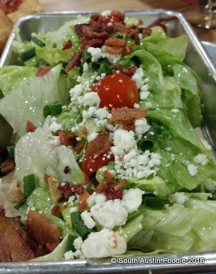 Pinthouse Pizza South Lamar -- wedge salad