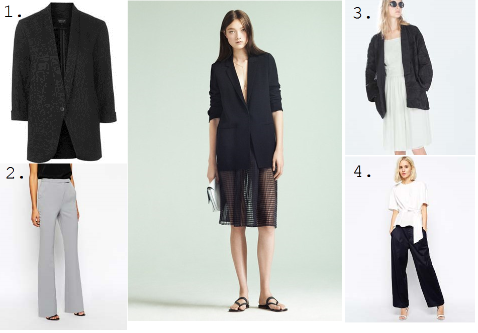ss15 trends tailoring trousers blazers