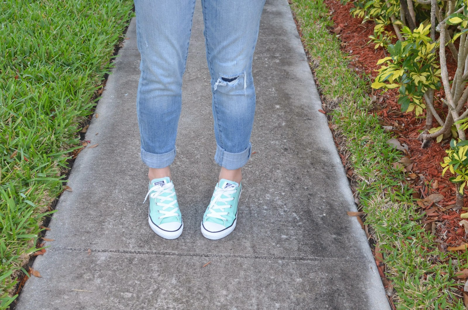 Chuck taylor Boyfriend Jeans