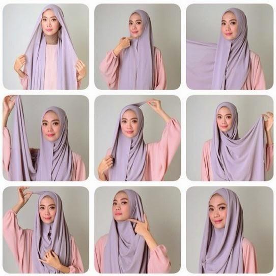 Tutorial Hijab Syar'i Cantik | Cara Memakai Jilbab Tutorial Hijab