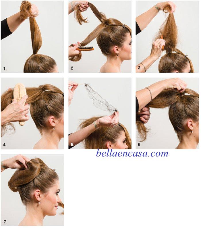 Peinados fáciles y rápidos abombado YouTube - Peinados Batidos Paso A Paso