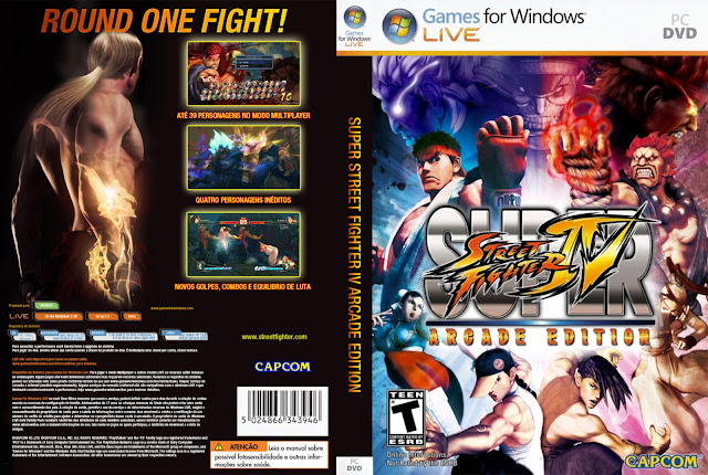 Super Street Fighter IV Arcade Edition pc version torrent MULTI.