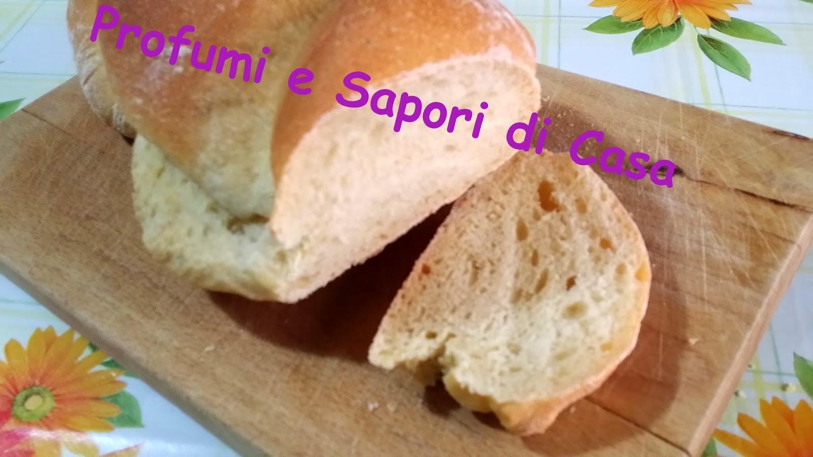 treccia di pane con semola e farina manitoba