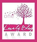 PREMIO ONE LOVELY BLOG.