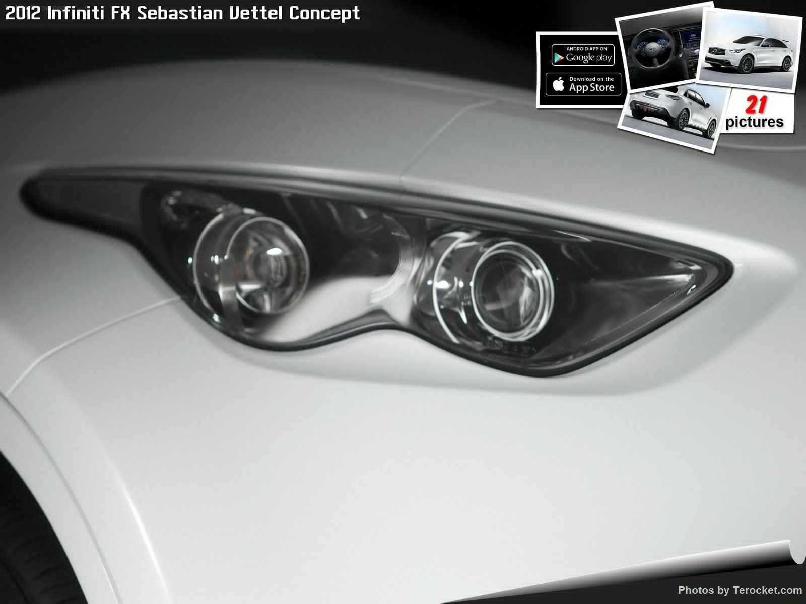 Hình ảnh xe ô tô Infiniti FX Sebastian Vettel Concept 2012 & nội ngoại thất