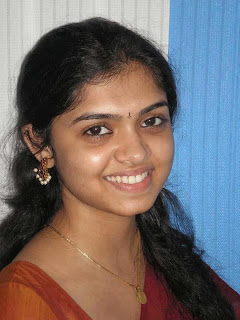 College girl from Tamil Nadu.