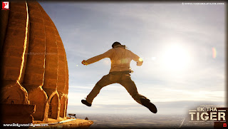  Salman Khan jumping from roof HD Wallpaper from Ek Tha Tiger