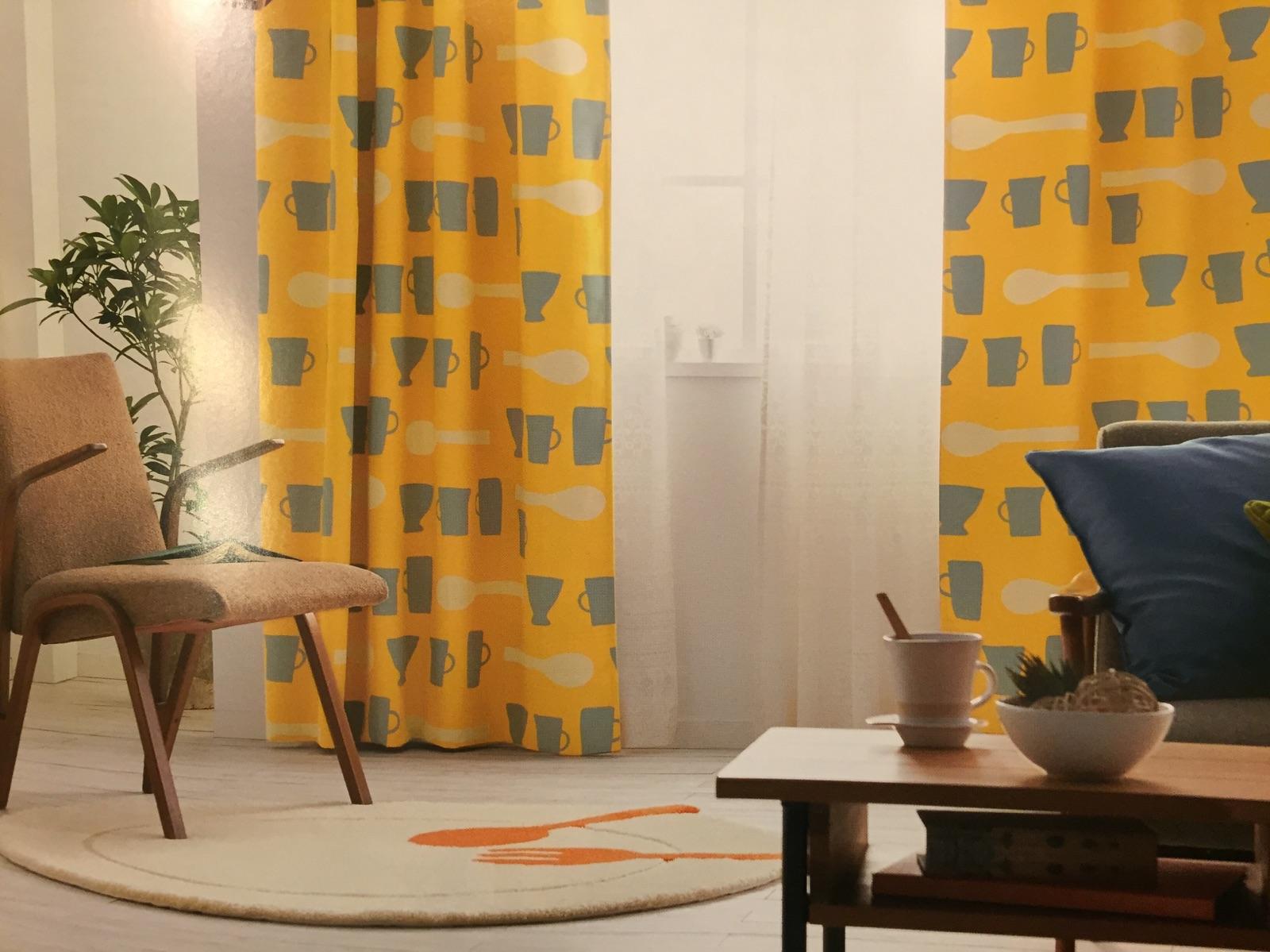 atsuko matanoブランドのカーテンも取扱い始めました! | 3days-grunge