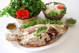 เมนูอาหารลดน้ำหนัก เมี่ยงปลาเผา