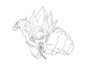 #1 Dragon Ball Coloring Page