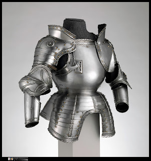 German (probably Augsburg), Portions of a Field Armor, dated 1524
