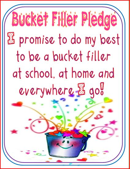 Bucket Fillers  Fisher School