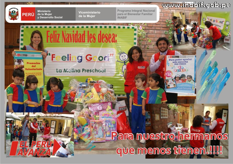 Promocion del voluntariado inabif alumnos de educaci n for Andy panda jardin de infantes