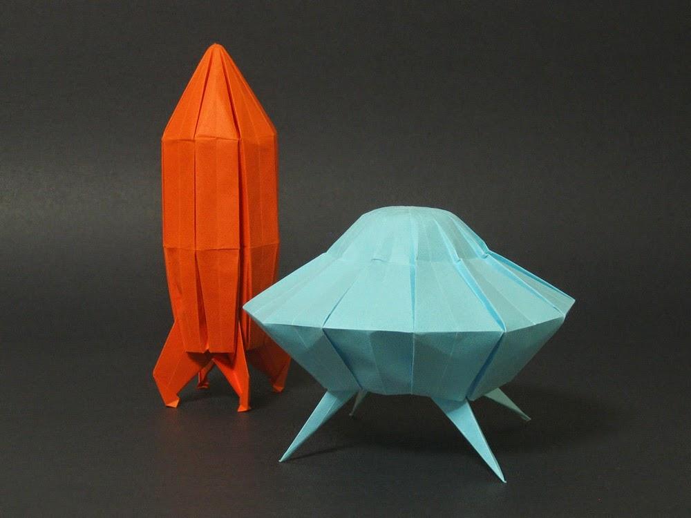 Origami Rocket Kids Instructions Easy