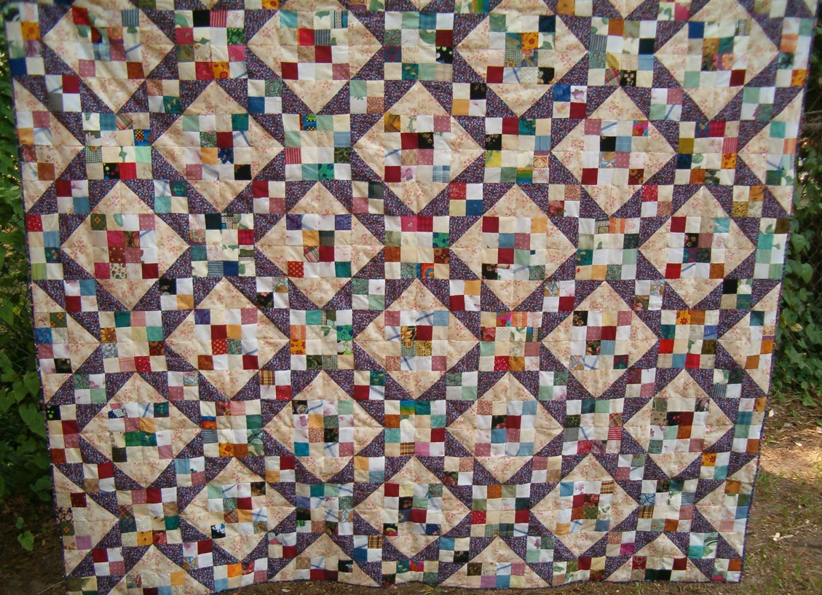 Quilts N Things: Scrappy Jacob's Ladder : jacobs ladder quilt - Adamdwight.com