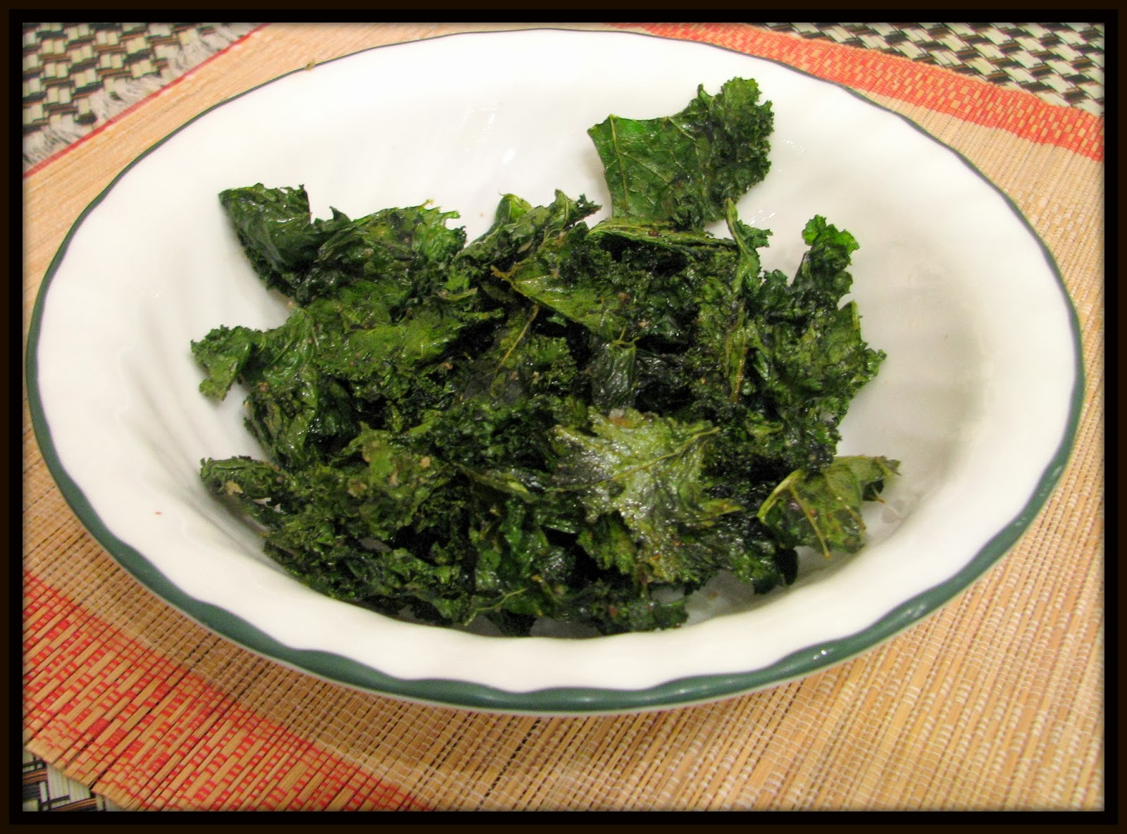 how to cut kale for kale chips