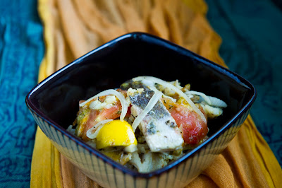 halibut fish stew