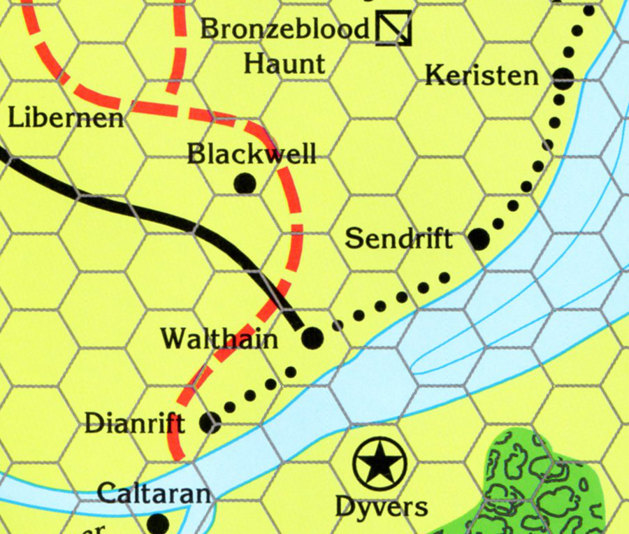 The Marklands, 20 Miles Per Hex