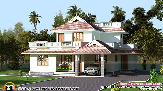 Kerala model beautiful home