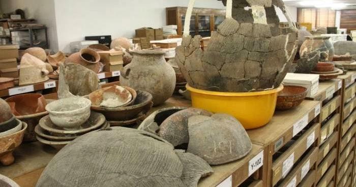 Arqueologia americana reconstruyen la historia con piezas for Origen de la ceramica